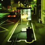 Electric Shadows - Abri-bus, rue de Charonne,  Paris 2000